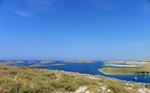 Our route itinerary is also sailing to Kornati islands national park