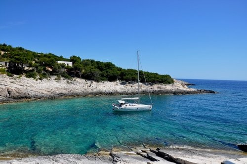 Sailing in Dalmatia