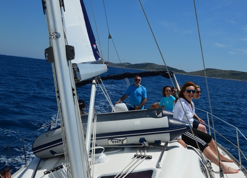 Sailing in Split - Croatia