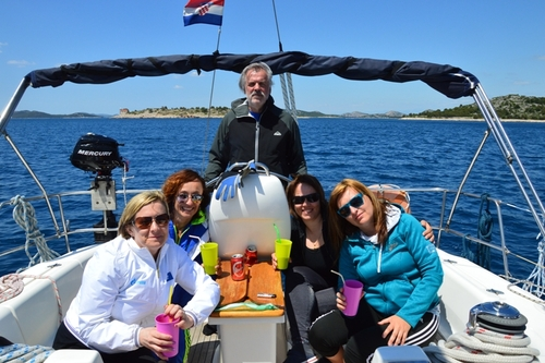 Take a relaxed sailing in Croatia with your friends or family