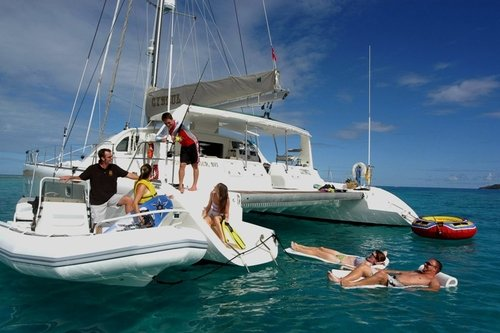 Family sailing charters