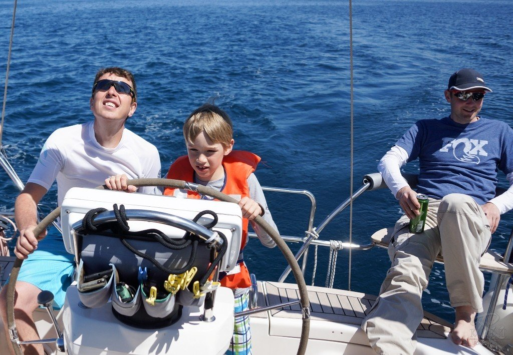 Family sailing Croatia - Keep your kids occupied.