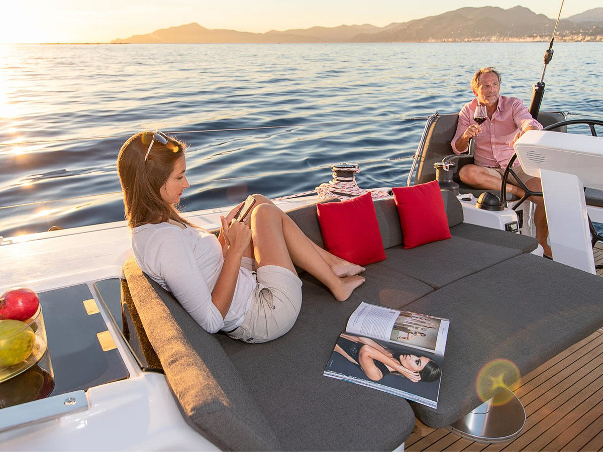 Enjoy in commodity and luxury aboard our sailing yachts