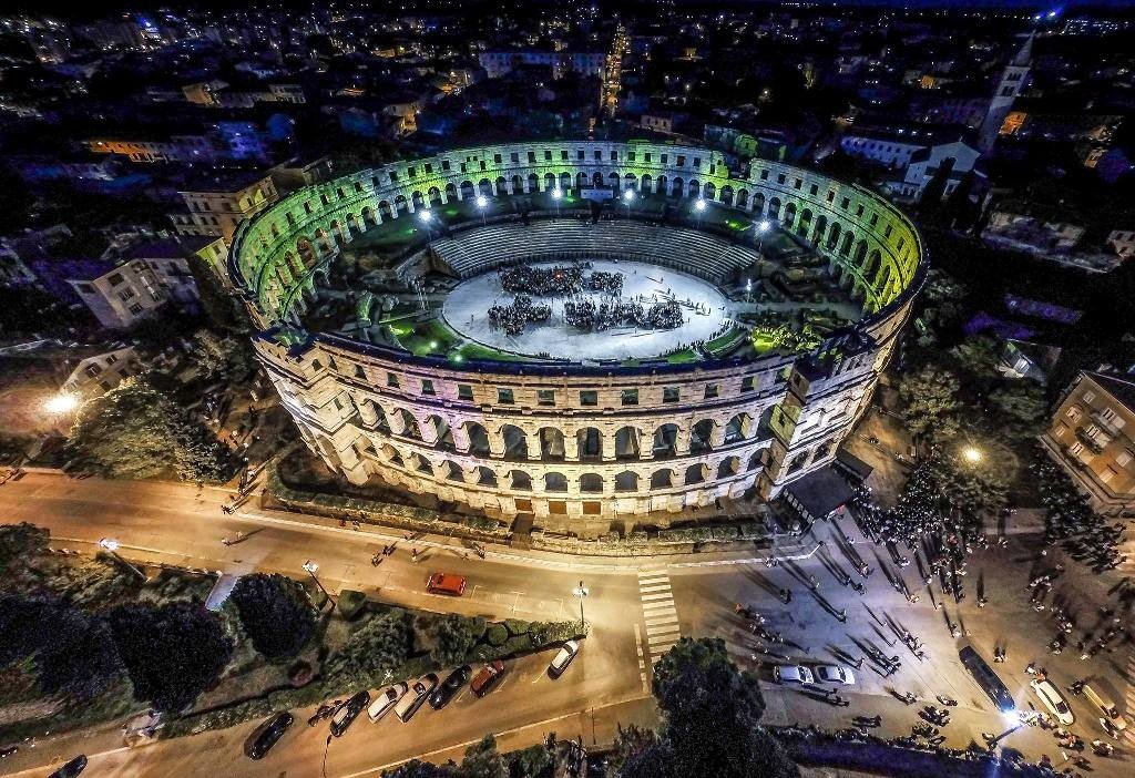 Last night is your best chance to discover the heartbeat of Pula