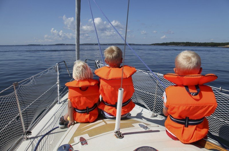 Calm seas and warm weather - perfect for Family sailing holidays in Croatia