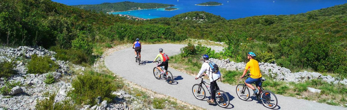 Activity holidays in Croatia - combination with cycling and sailing