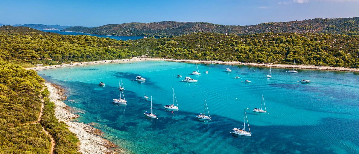 Short sailing trips Croatia