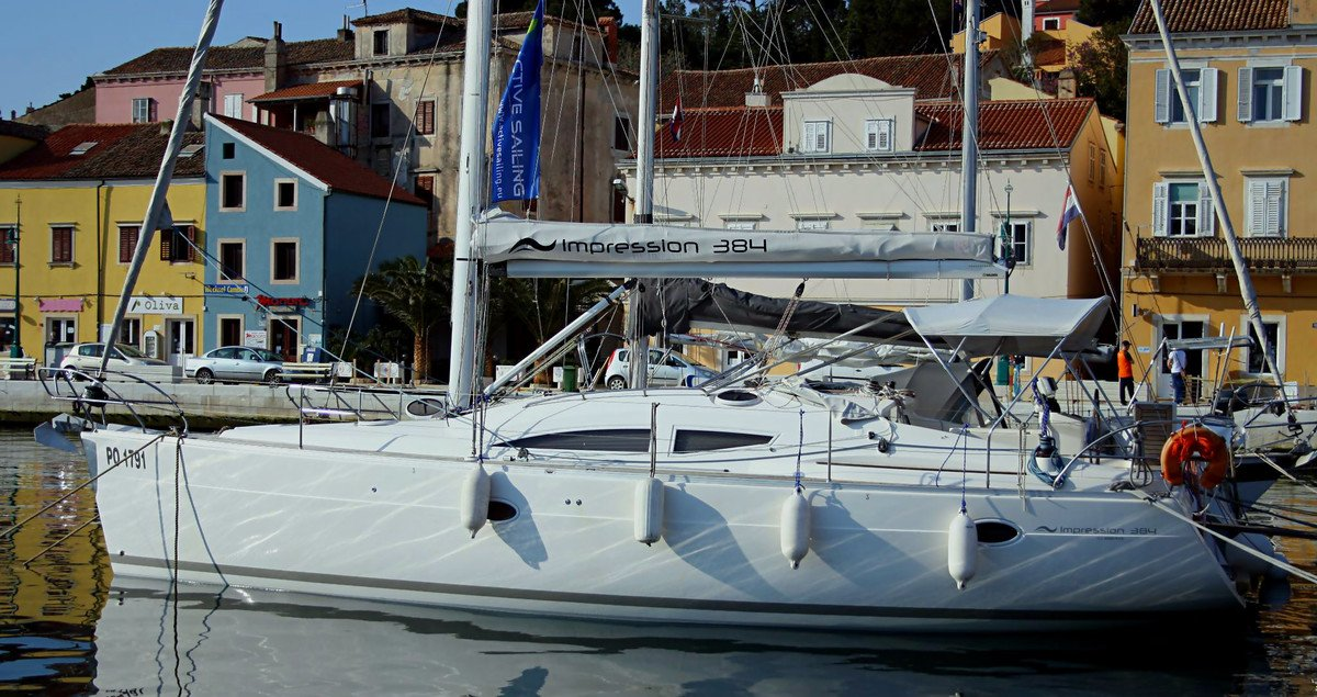 Croatia sailing trip on our Elan 384 is a unique experience
