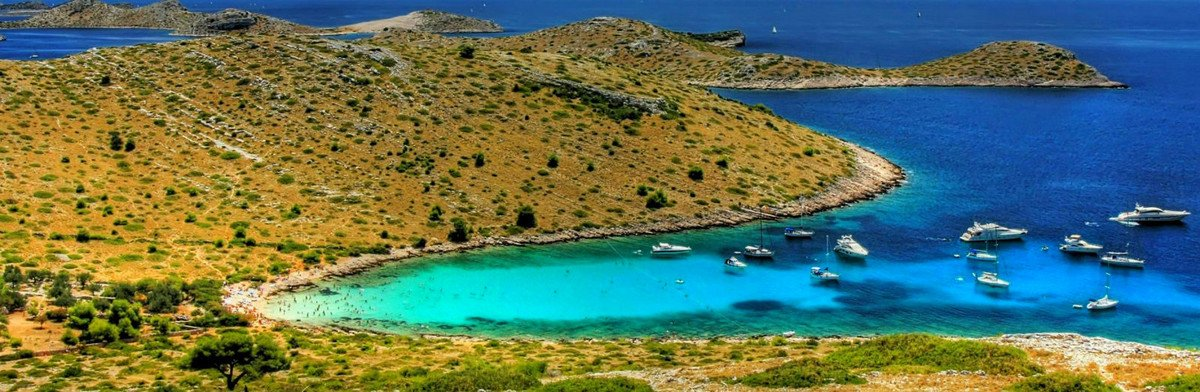 Take a sailing tour from Zadar and visit Kornati national park