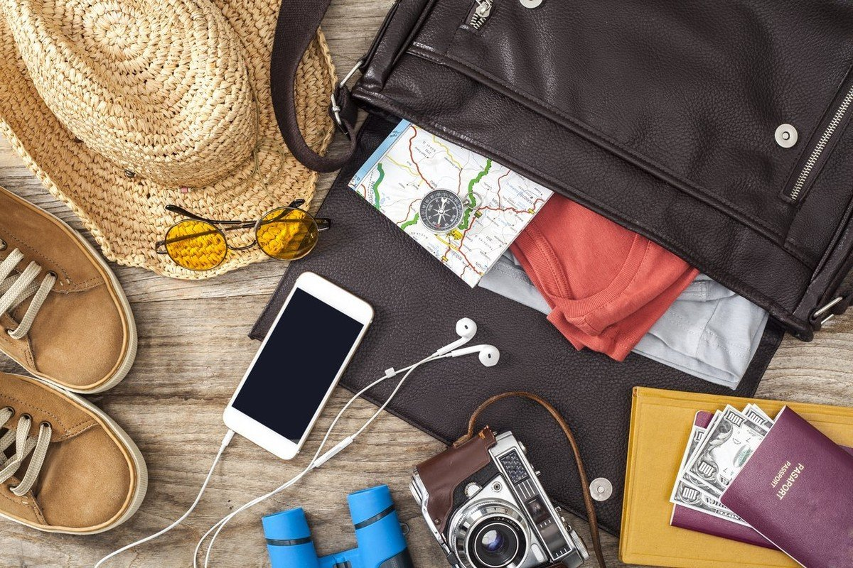 Cash, credit cards, passport, ID, boarding pass, pills, sun protection are essentials