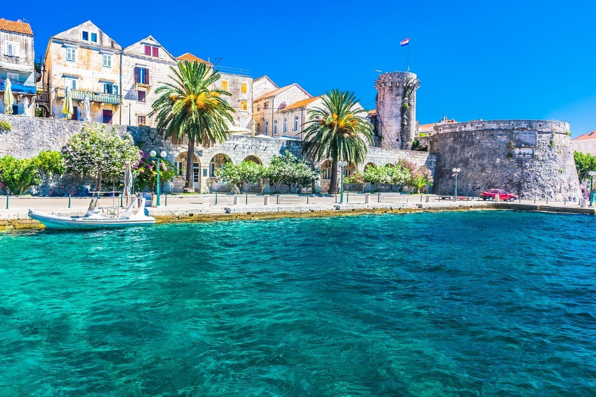 Korčula should rank the top 10 list of Best place to sail in Croatia
