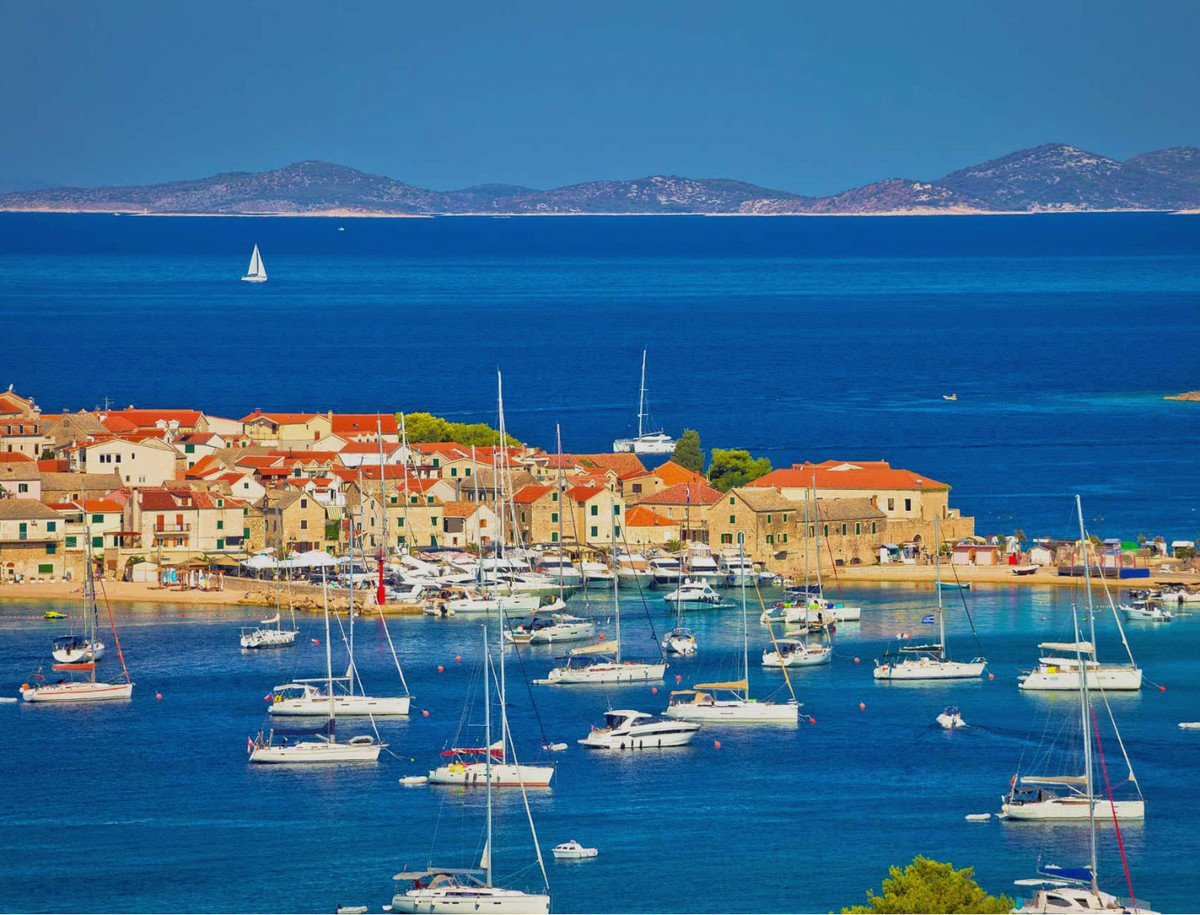 Primošten is one of the most popular maritime destinations