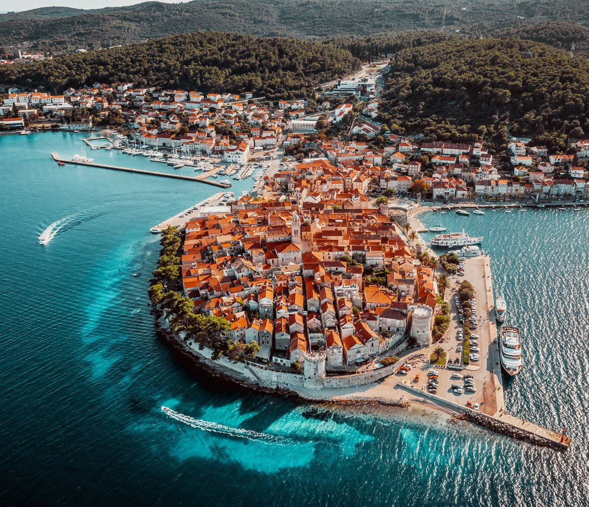 Korčula - the pearl of Southern Adriatic