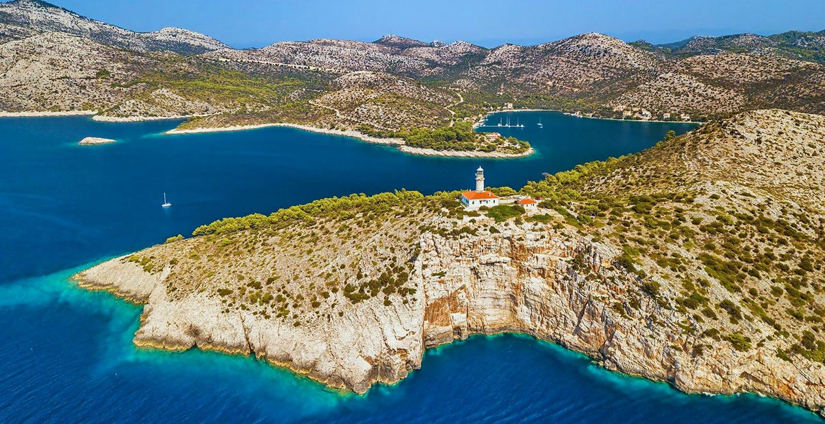 Distant island Lastovo is possible to visit from Split or Dubrovnik