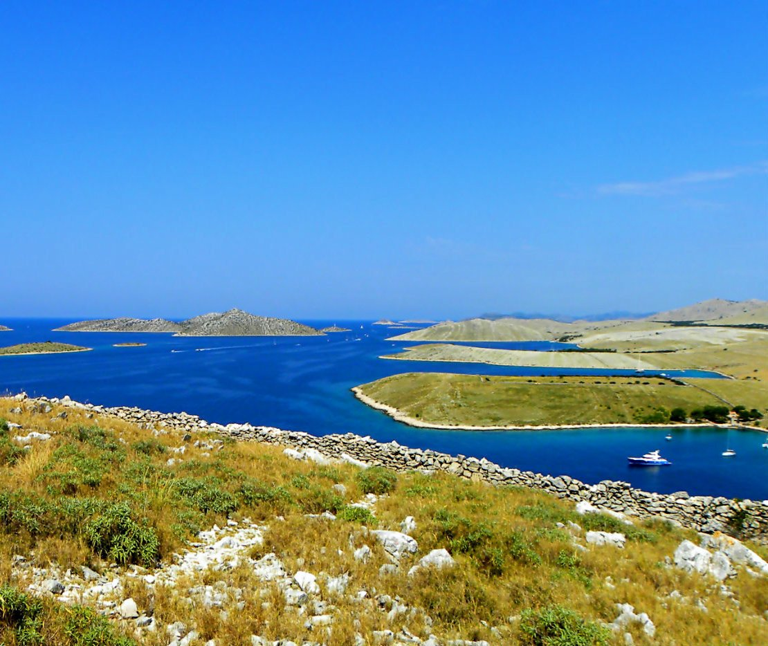 The game of colours on Kornati islands
