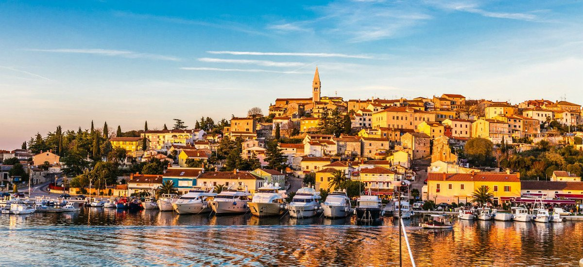 Vrsar is one of the most romantic towns in istria